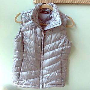 North face puffer vest